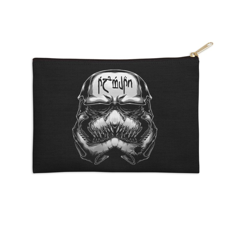 Warrior of the Sky Accessories Zip Pouch by Q101 Shop