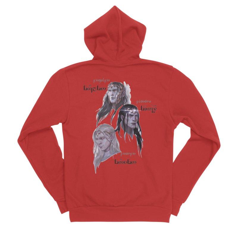 Noldor Bros Women's Sponge Fleece Zip-Up Hoody by Q101 Shop