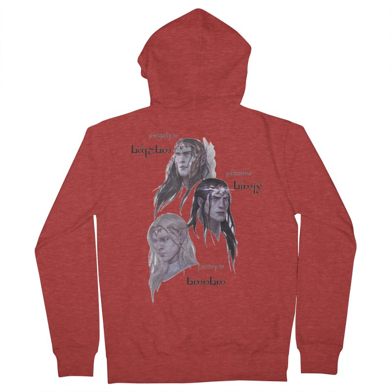 Noldor Bros Women's French Terry Zip-Up Hoody by Q101 Shop