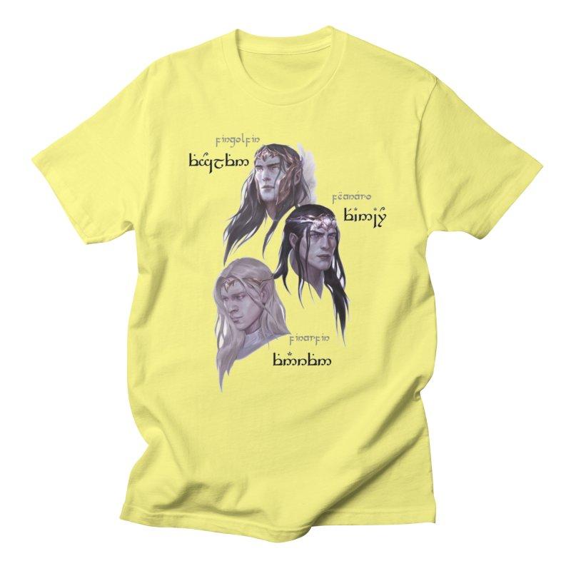 Noldor Bros Men's Regular T-Shirt by Q101 Shop
