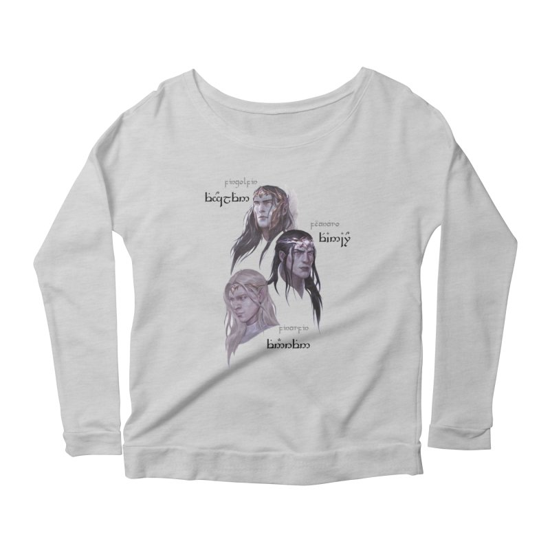 Noldor Bros Women's Scoop Neck Longsleeve T-Shirt by Q101 Shop