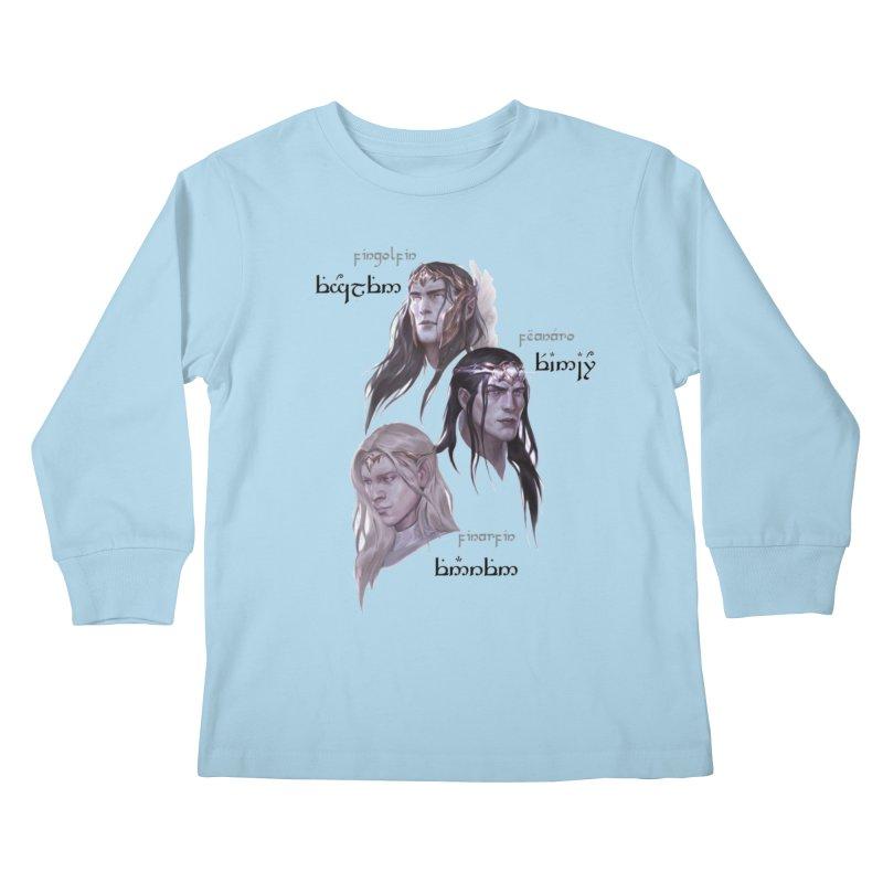 Noldor Bros Kids Longsleeve T-Shirt by Q101 Shop