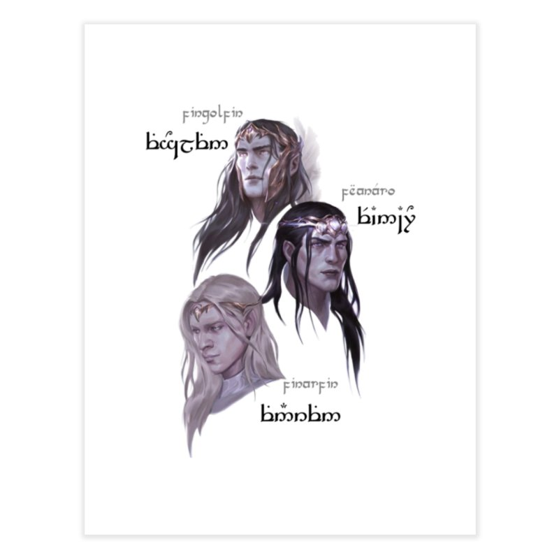 Noldor Bros Home Fine Art Print by Q101 Shop