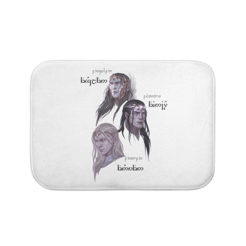 Noldor Bros Home Bath Mat by Q101 Shop
