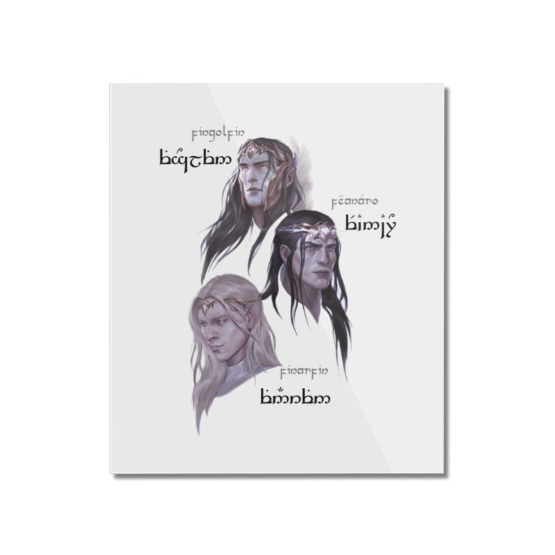 Noldor Bros Home Mounted Acrylic Print by Q101 Shop