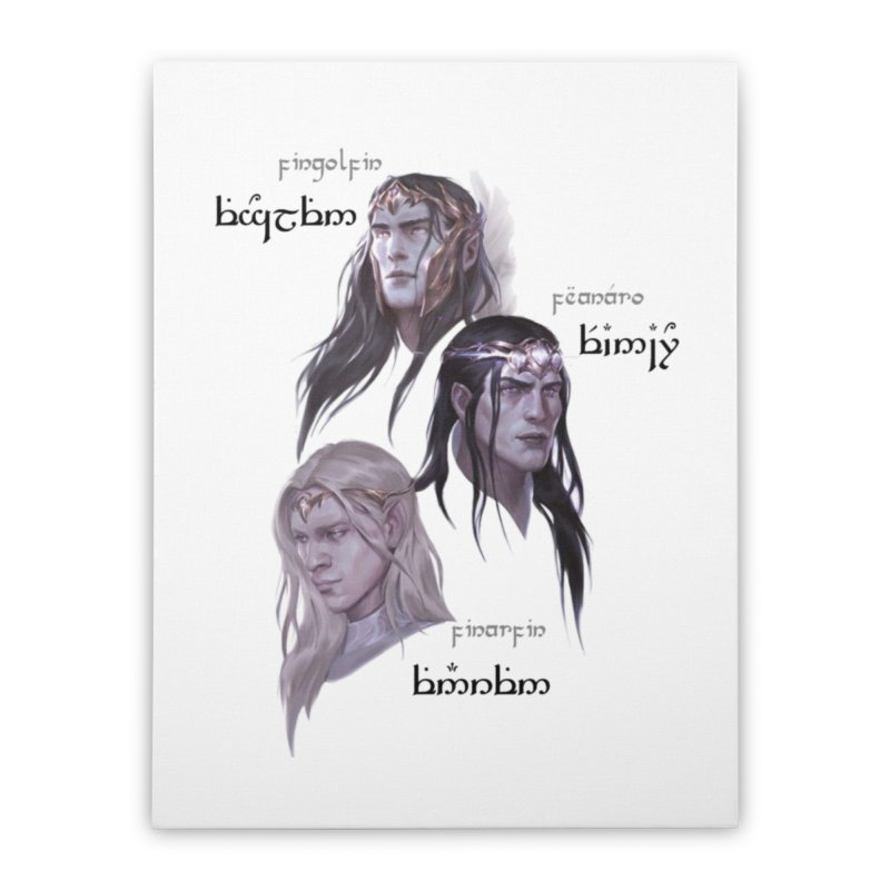 Noldor Bros Home Stretched Canvas by Q101 Shop