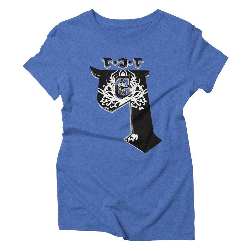 Q101 Shop 2.0 Women's Triblend T-Shirt by Q101 Shop