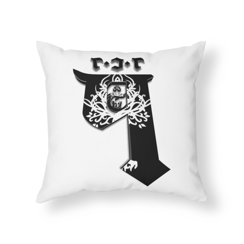 Q101 Shop 2.0 Home Throw Pillow by Q101 Shop