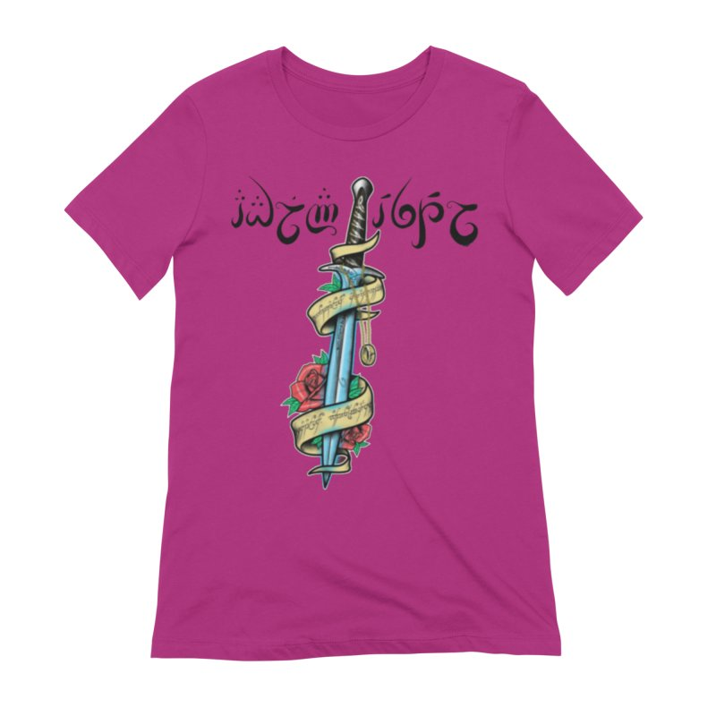 Brightest Hope in Women's Extra Soft T-Shirt Berry by Q101 Shop