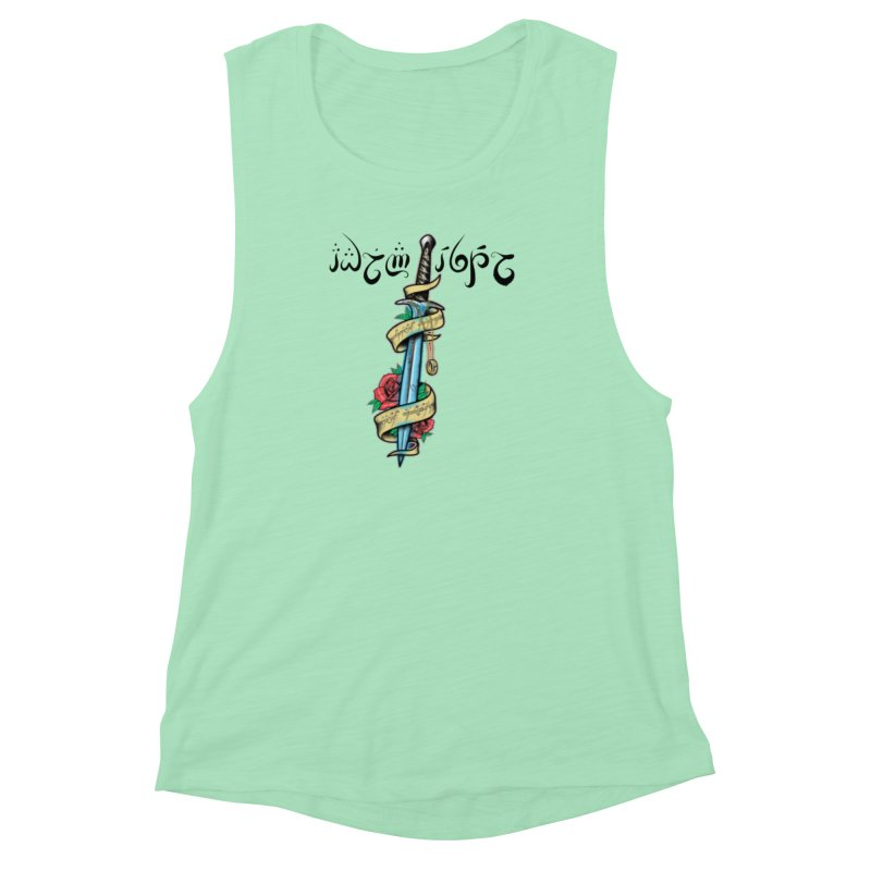 Brightest Hope Women's Muscle Tank by Q101 Shop