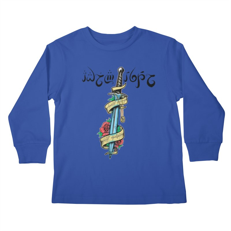 Brightest Hope Kids Longsleeve T-Shirt by Q101 Shop