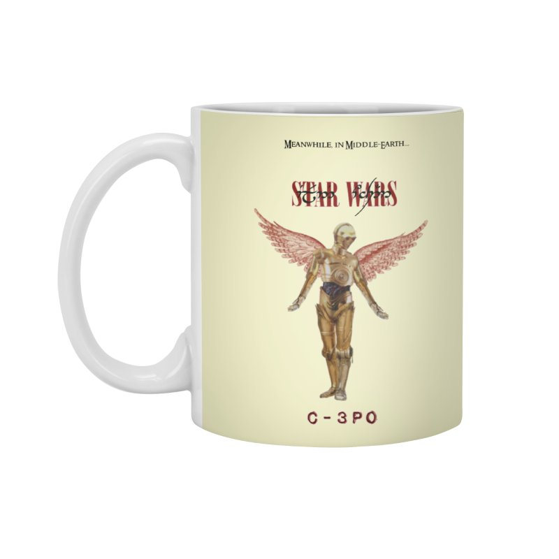 C3PO in Utero Accessories Standard Mug by Q101 Shop
