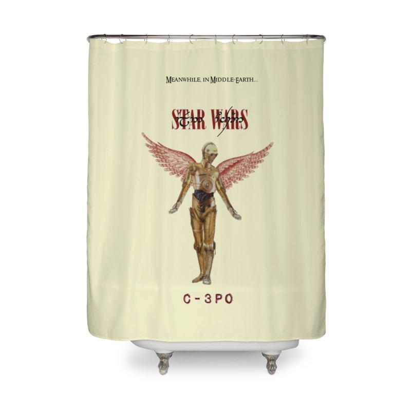 C3PO in Utero Home Shower Curtain by Q101 Shop