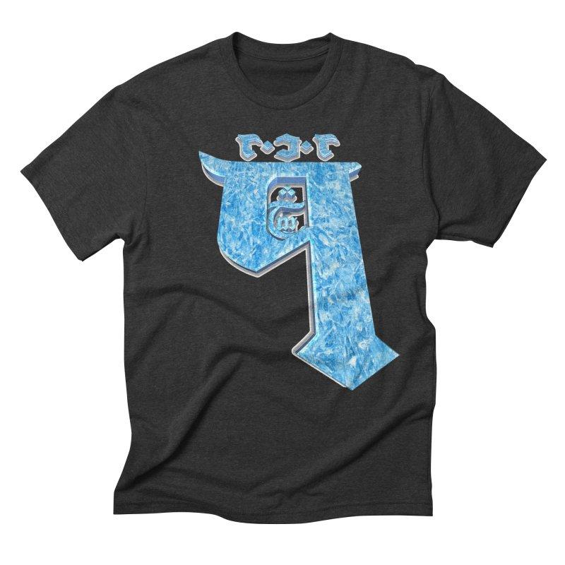 Q101 Hrívë 2.0 Men's Triblend T-Shirt by Q101 Shop