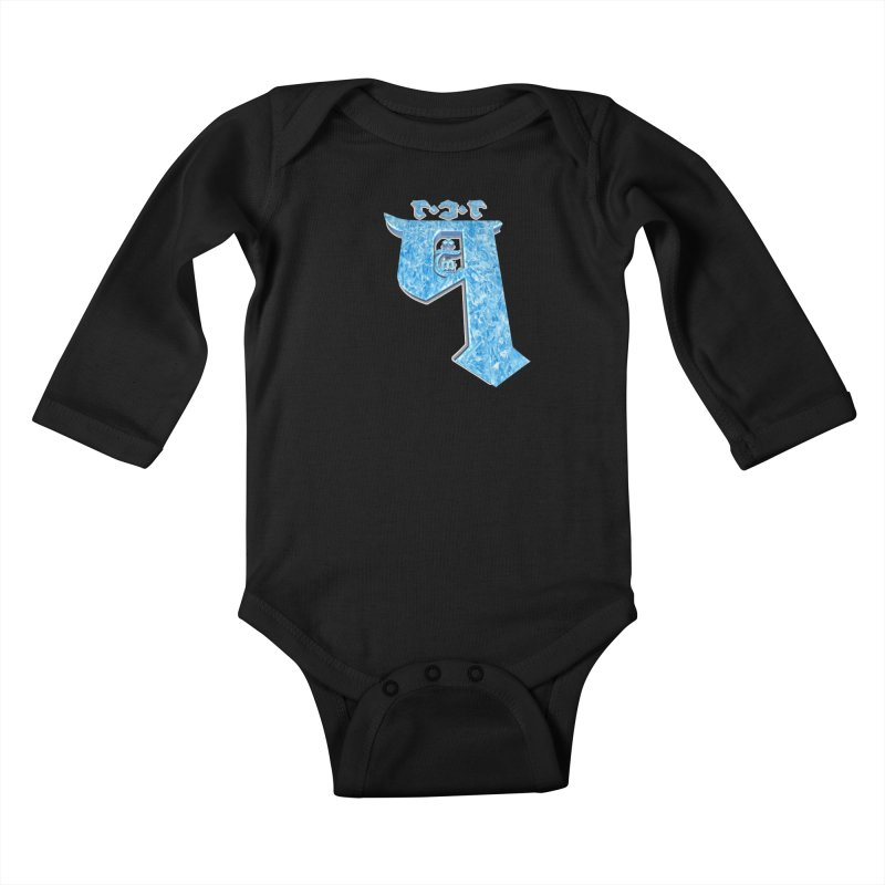 Q101 Hrívë 2.0 Kids Baby Longsleeve Bodysuit by Q101 Shop