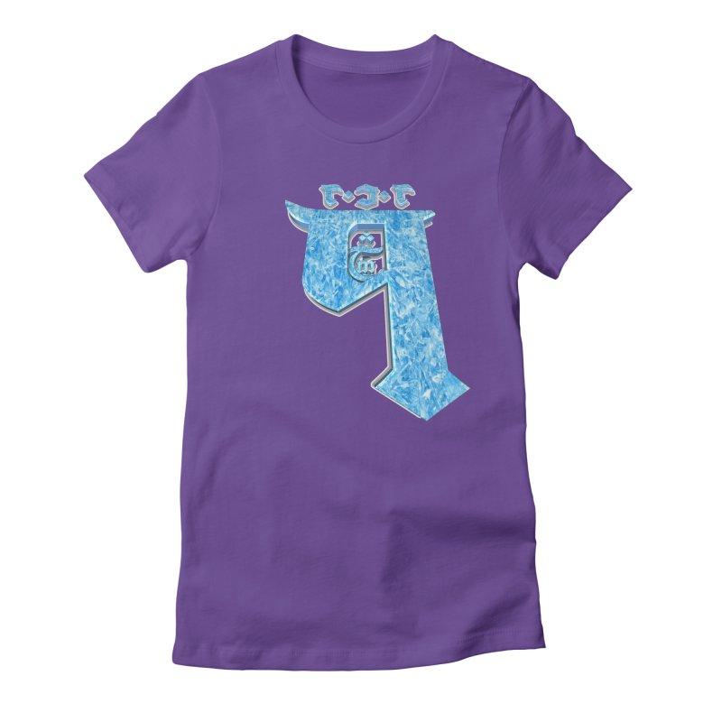 Q101 Hrívë 2.0 Women's Fitted T-Shirt by Q101 Shop