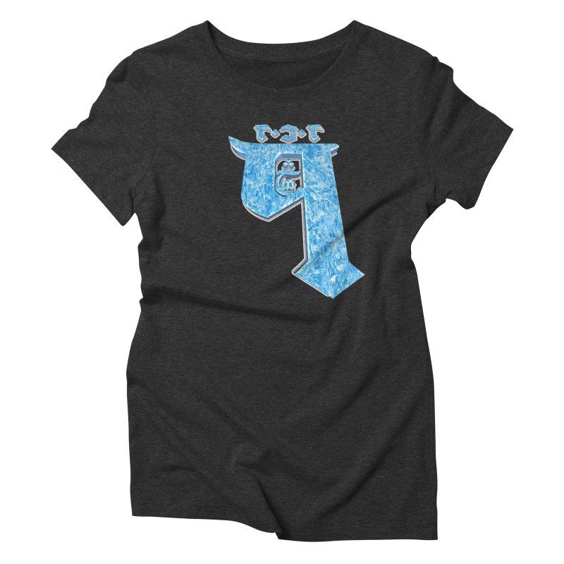 Q101 Hrívë 2.0 Women's Triblend T-Shirt by Q101 Shop