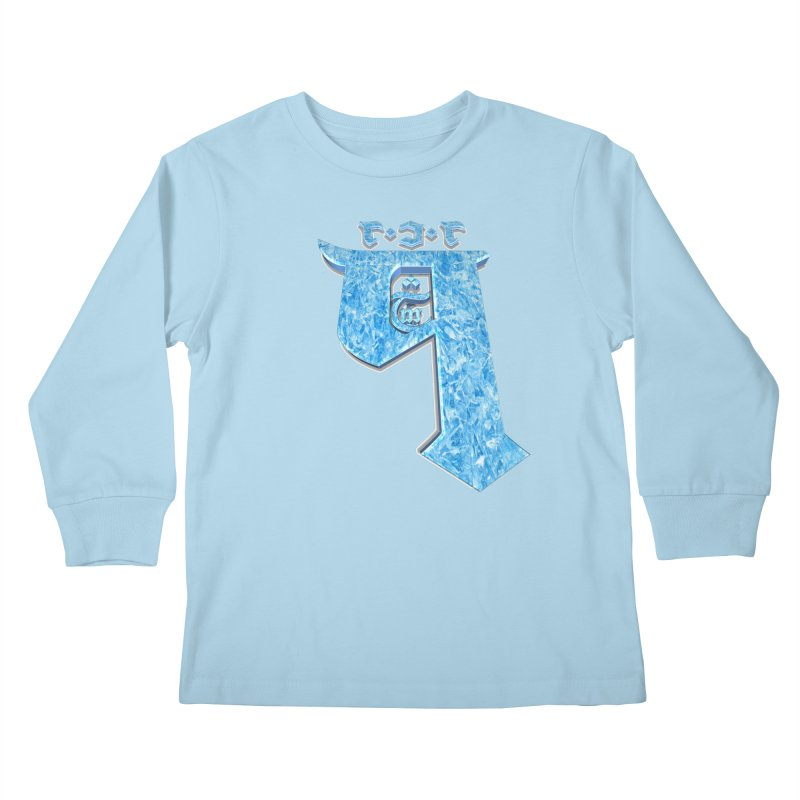 Q101 Hrívë 2.0 Kids Longsleeve T-Shirt by Q101 Shop