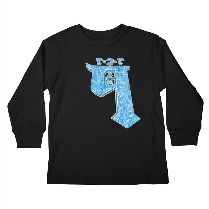 Q101 Hrívë 2.0 Kids Longsleeve T-Shirt by Q101 Shop