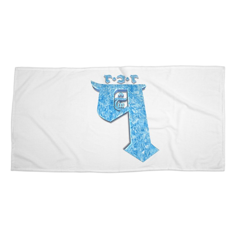 Q101 Hrívë 2.0 Accessories Beach Towel by Q101 Shop