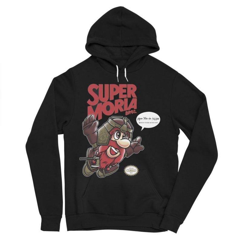 Super Moria Bros Women's Sponge Fleece Pullover Hoody by Q101 Shop