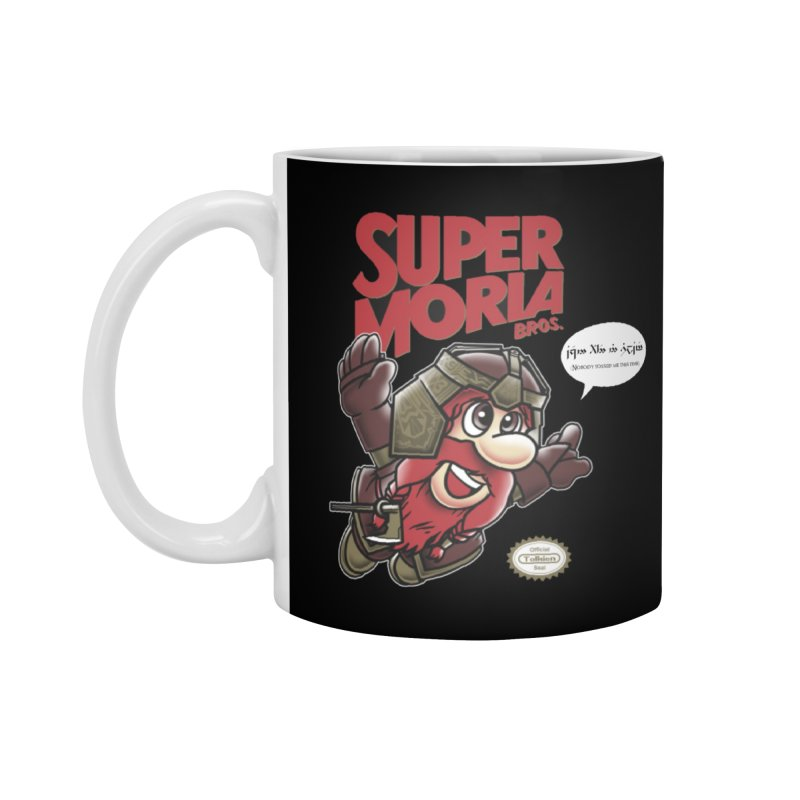 Super Moria Bros Accessories Standard Mug by Q101 Shop