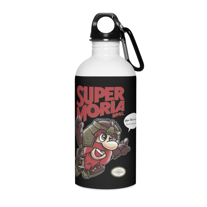Super Moria Bros Accessories Water Bottle by Q101 Shop