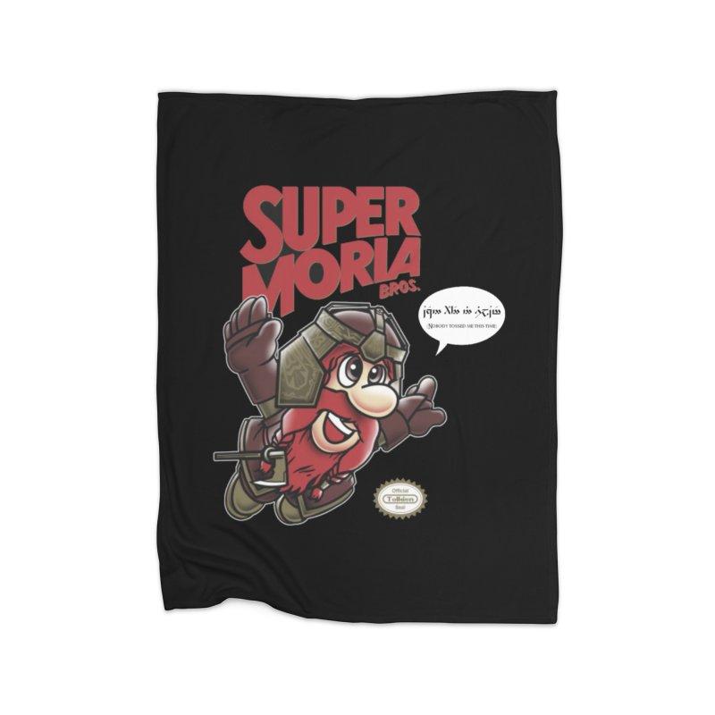 Super Moria Bros Home Fleece Blanket Blanket by Q101 Shop