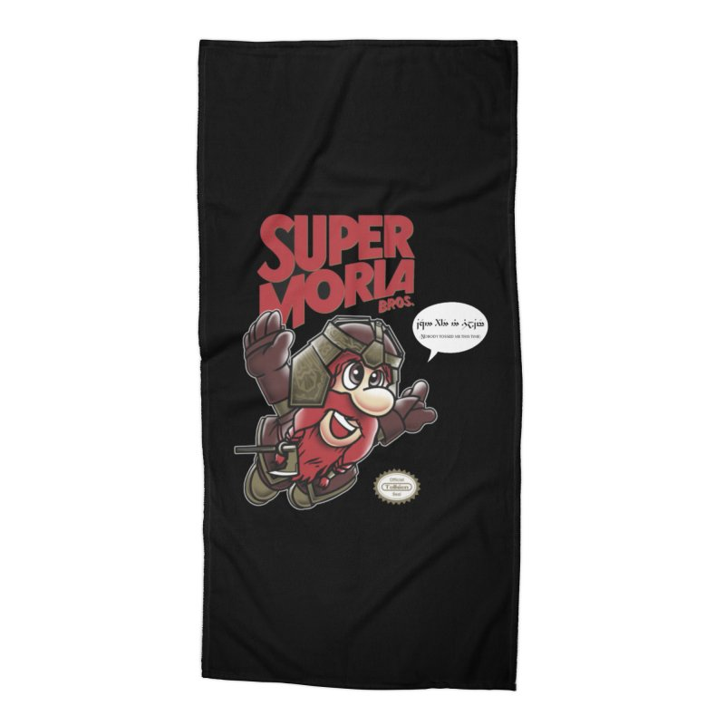 Super Moria Bros Accessories Beach Towel by Q101 Shop