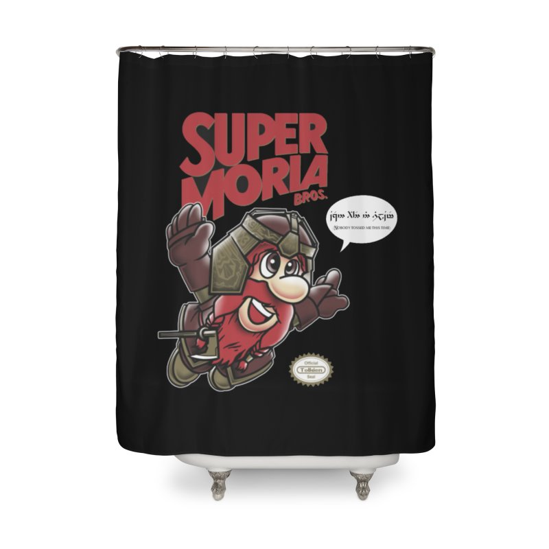 Super Moria Bros Home Shower Curtain by Q101 Shop