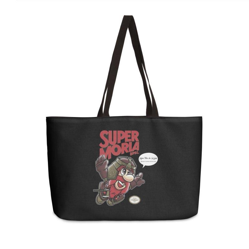 Super Moria Bros Accessories Weekender Bag Bag by Q101 Shop