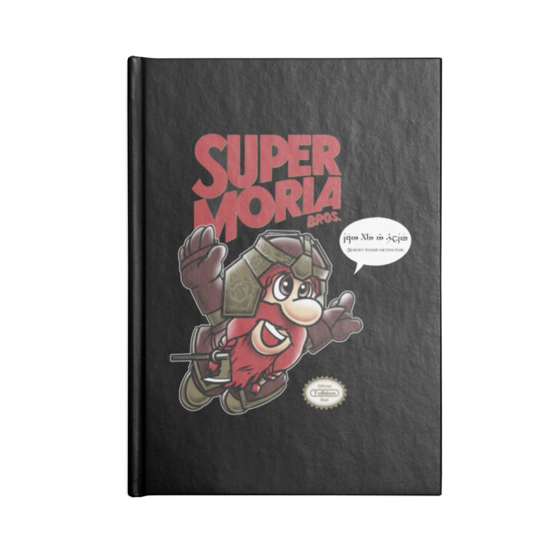 Super Moria Bros Accessories Lined Journal Notebook by Q101 Shop