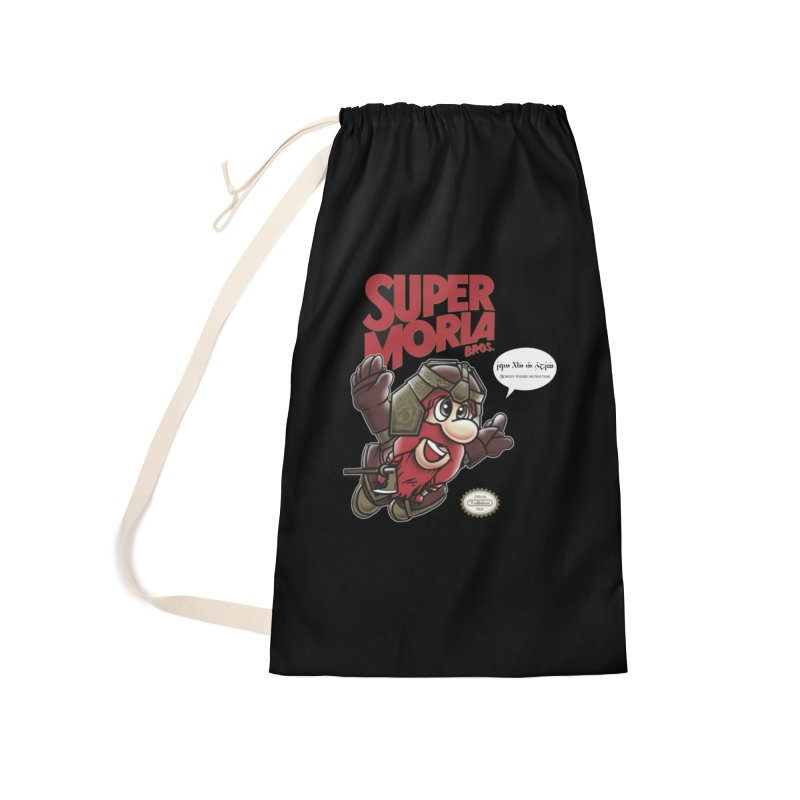 Super Moria Bros Accessories Laundry Bag Bag by Q101 Shop