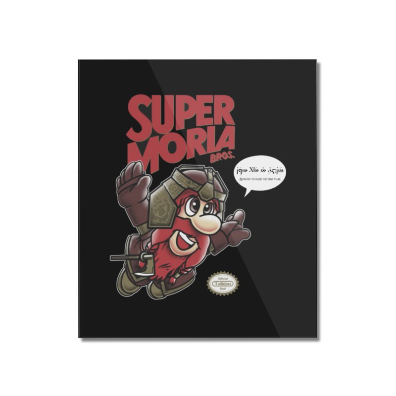 Super Moria Bros Home Mounted Acrylic Print by Q101 Shop
