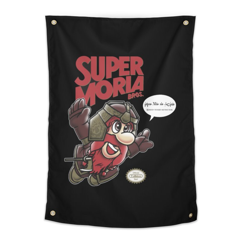 Super Moria Bros Home Tapestry by Q101 Shop