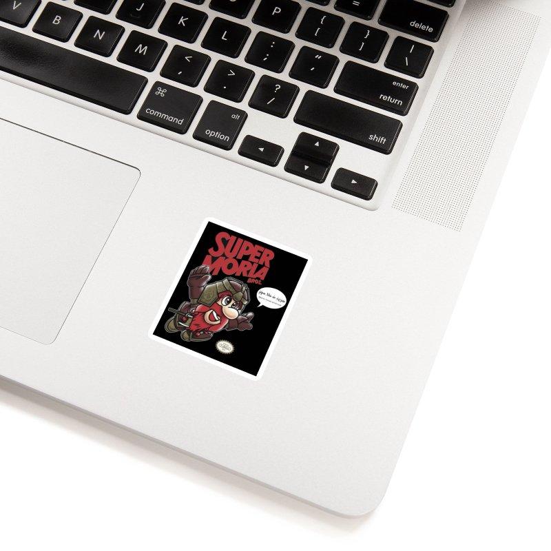 Super Moria Bros Accessories Sticker by Q101 Shop