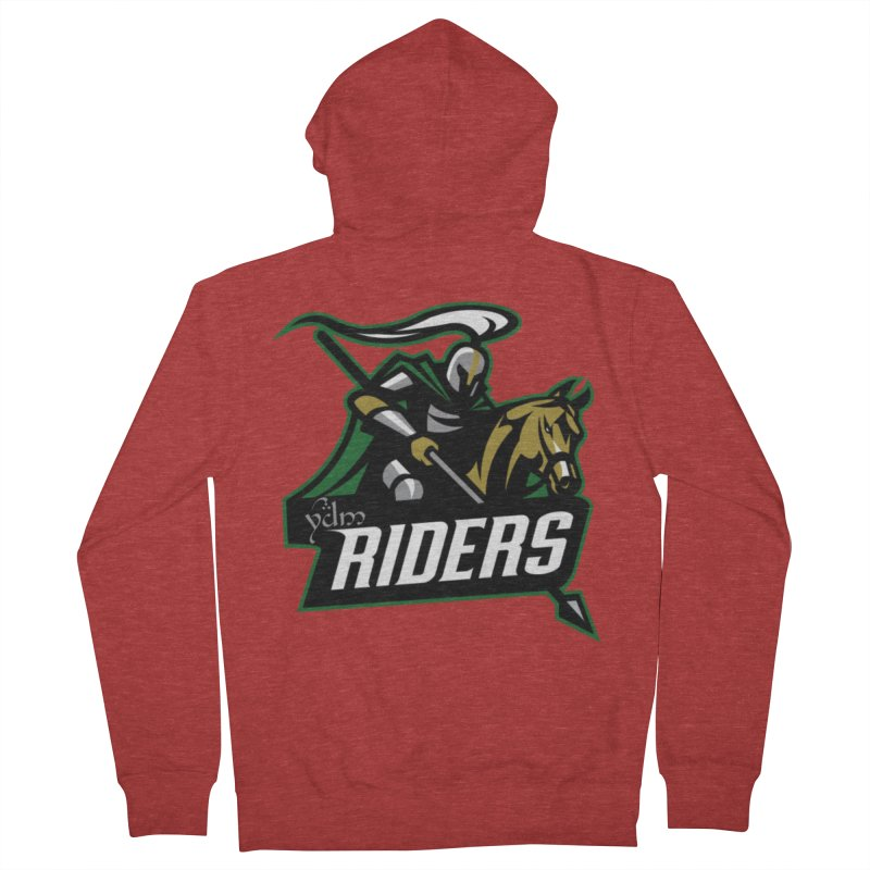 Rohan Riders Men's French Terry Zip-Up Hoody by Q101 Shop