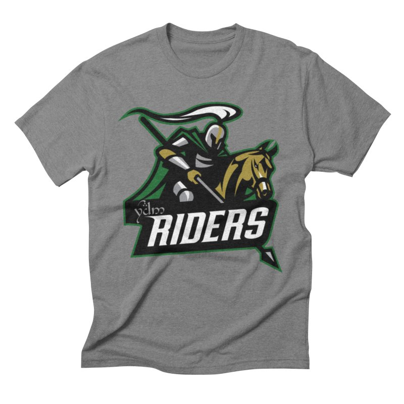Rohan Riders in Men's Triblend T-Shirt Grey Triblend by Q101 Shop