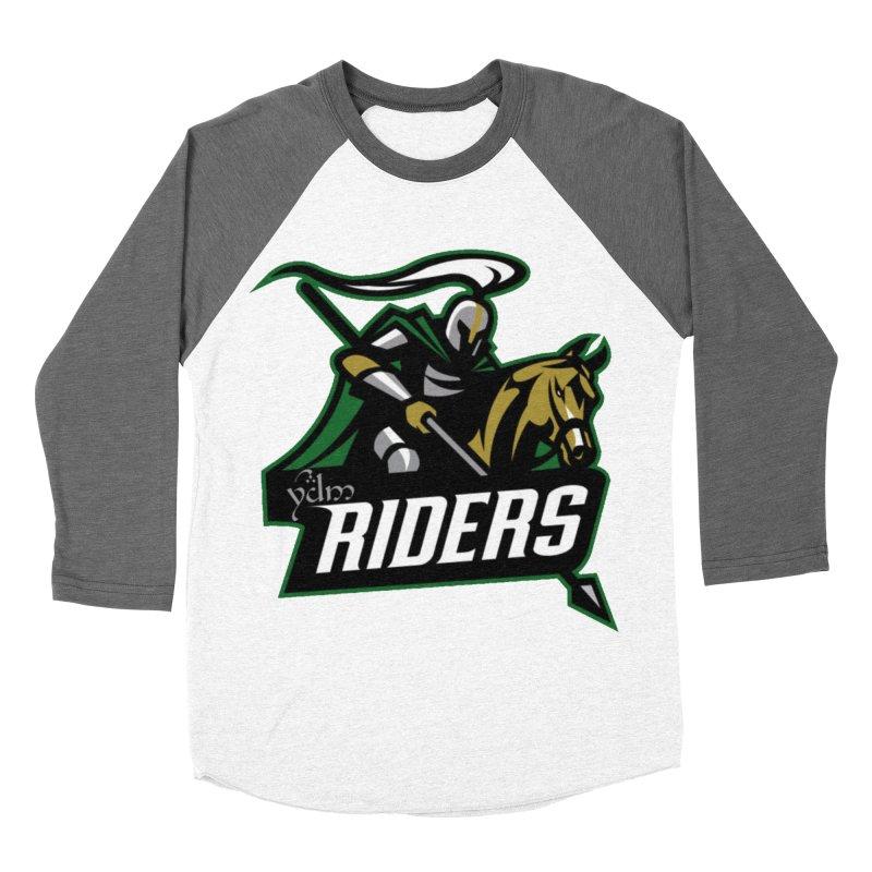 Rohan Riders Men's Baseball Triblend Longsleeve T-Shirt by Q101 Shop