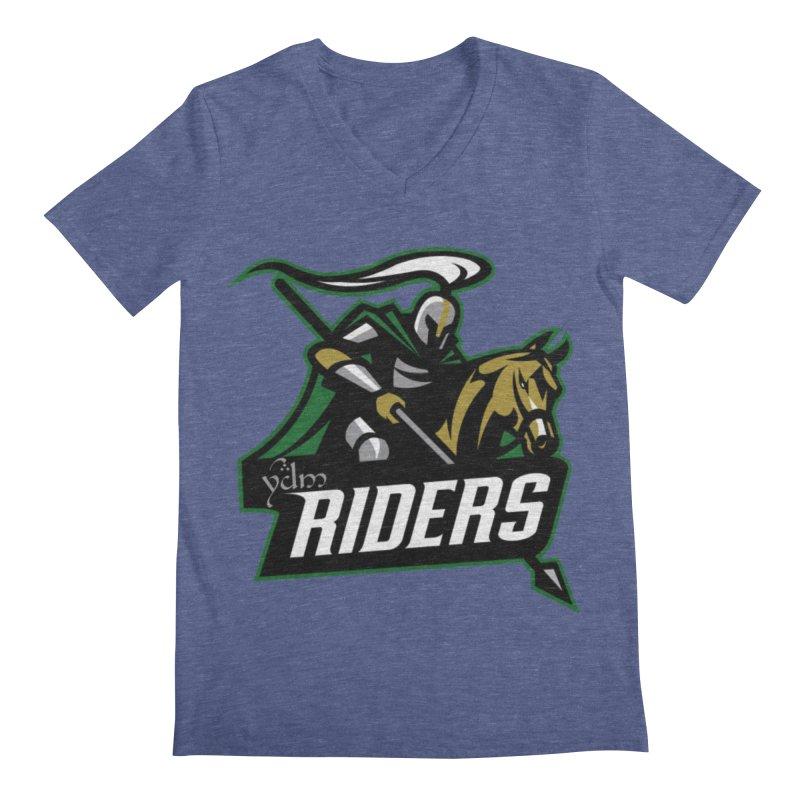 Rohan Riders Men's Regular V-Neck by Q101 Shop