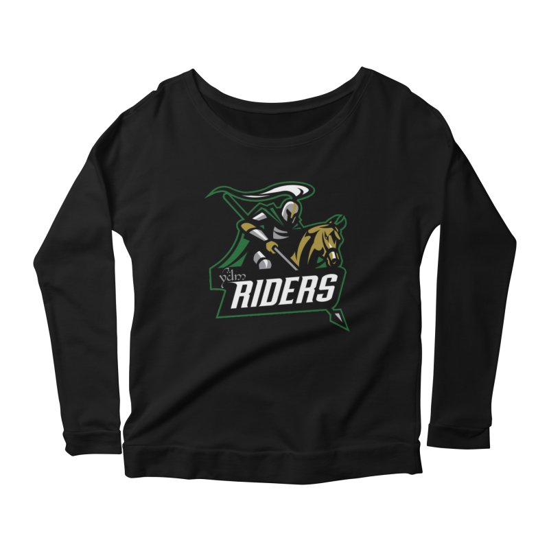 Rohan Riders Women's Scoop Neck Longsleeve T-Shirt by Q101 Shop