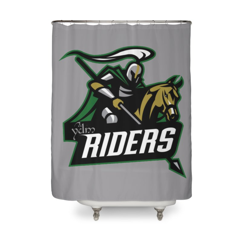 Rohan Riders Home Shower Curtain by Q101 Shop