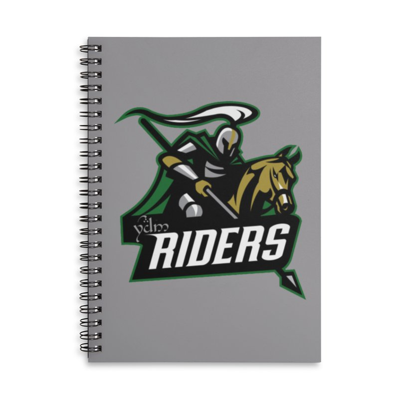 Rohan Riders Accessories Lined Spiral Notebook by Q101 Shop