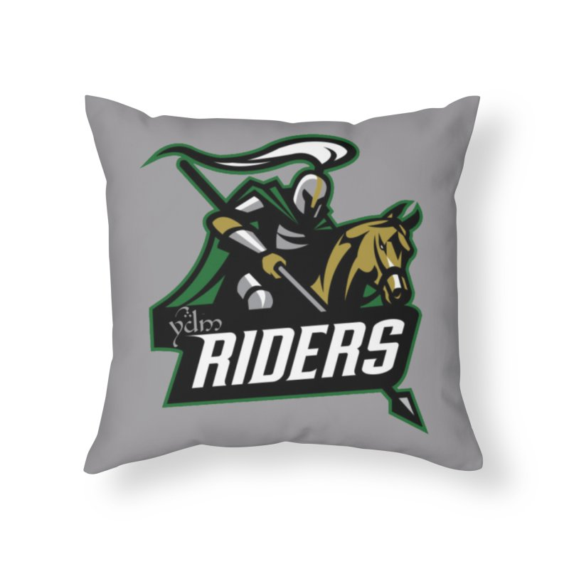 Rohan Riders Home Throw Pillow by Q101 Shop
