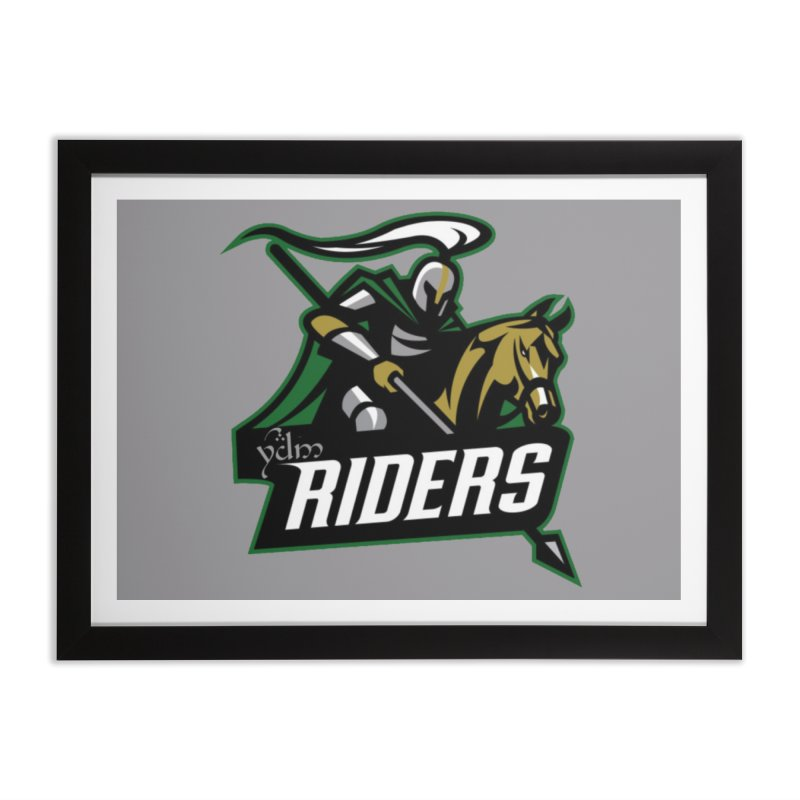 Rohan Riders Home Framed Fine Art Print by Q101 Shop