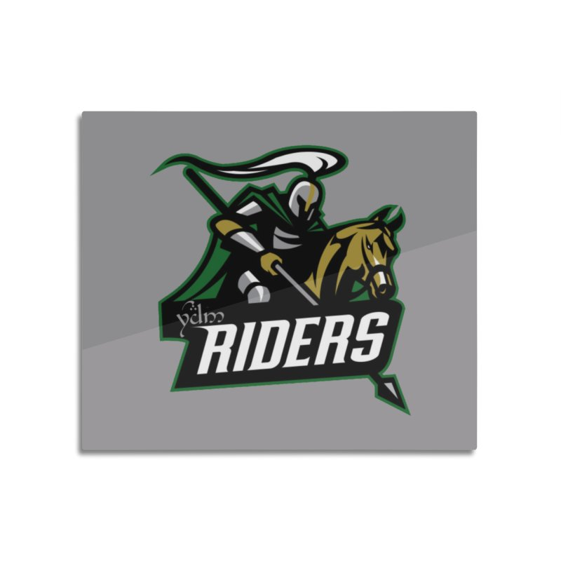 Rohan Riders Home Mounted Aluminum Print by Q101 Shop