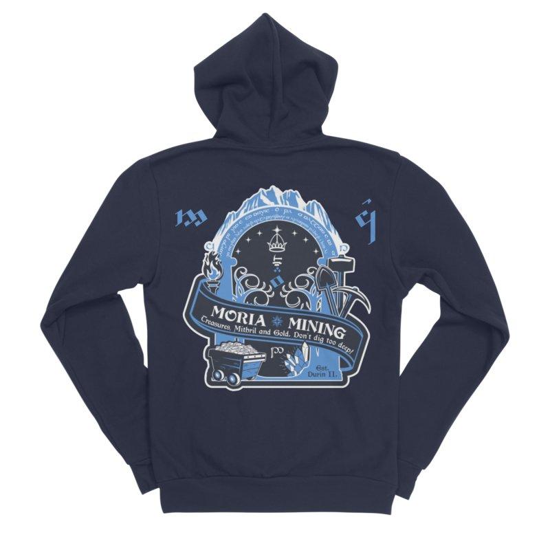 Moria Mining Women's Sponge Fleece Zip-Up Hoody by Q101 Shop