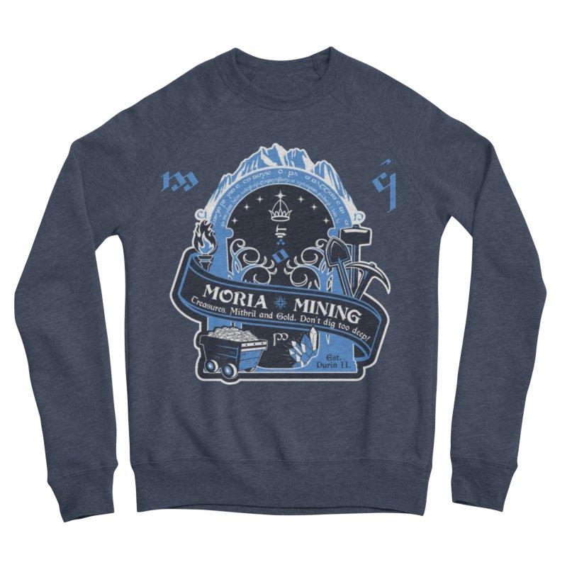 Moria Mining Women's Sponge Fleece Sweatshirt by Q101 Shop