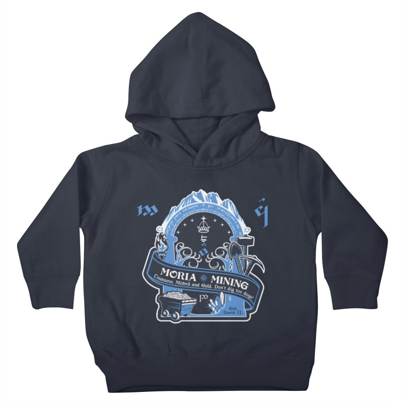 Moria Mining Kids Toddler Pullover Hoody by Q101 Shop