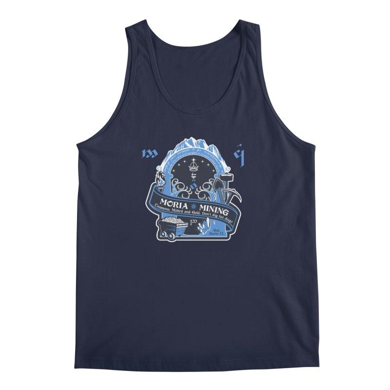 Moria Mining Men's Regular Tank by Q101 Shop